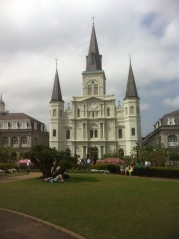 St Louis Cathedral on Jackson Square